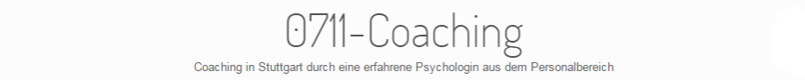 0711-Coaching | Online-Coaching, Coaching, Sparringpartner in Stuttgart